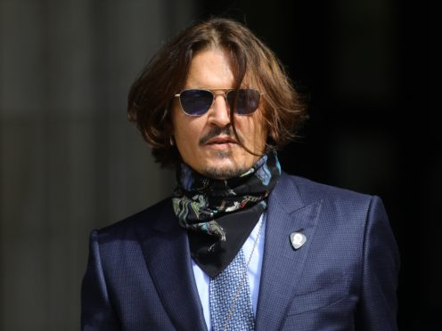 Actor Johnny Depp (Aaron Chown/PA)