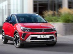 Vauxhall's Crossland debuts a striking new look