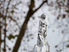 The sculpture dedicated to Mary Wollstonecraft (Ioana Marinescu/PA)