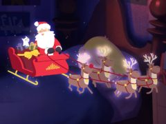 The Cats Protection Christmas animation (Cats Protection)
