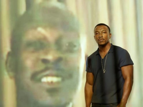 Actor Ashley Walters has taken part in an exhibition by celebrity photographer Rankin exploring grief and loss (Rankin/PA)