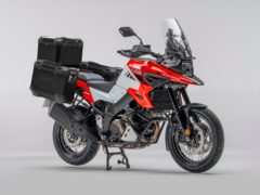 The V-Strom is powered by a V-Twin engine