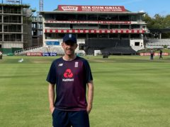 England paceman Olly Stone at Newlands, Cape Town (Rory Dollard/PA)