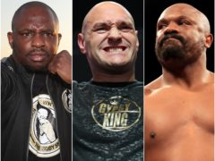 Dillian Whyte could be set to face Tyson Fury or Dereck Chisora (Nick Potts/Bradley Collyer/PA)