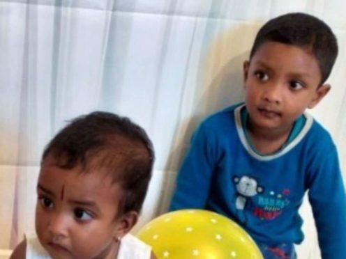 Pavinya, left, and Nigash Nithiyakumar both died from their injuries (handout/PA)