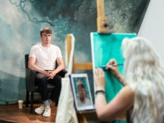 Paul Mescal sits for the Portrait Artist Of The Year competition (Sky Arts/PA)