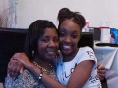 Michelle, with her daughter LaCharne Gray (Family handout)