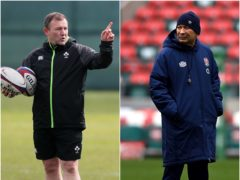 Ireland kicking coach Richie Murphy has responded to England coach Eddie Jones' latest comments ( Brian Lawless/Neil Hall/PA)