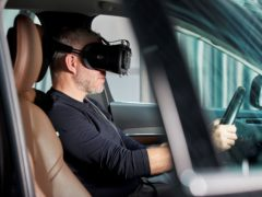 "Volvo's ""ultimate driving simulator"" uses latest gaming technology to develop safer cars"