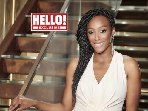 Victoria Ekanoye (Hello! magazine/PA)