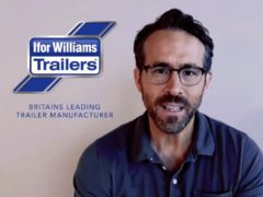 Ryan Reynolds in a spoof Ifor Williams Trailers ad (Wrexham AFC)