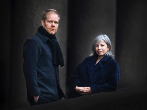 Max Richter and Yulia Mahr (Mike Terry)