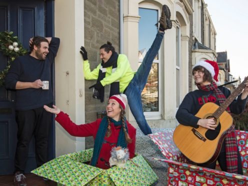 PRESENT will see shows staged on people's doorsteps or in their gardens (Neil Hanna/PA)
