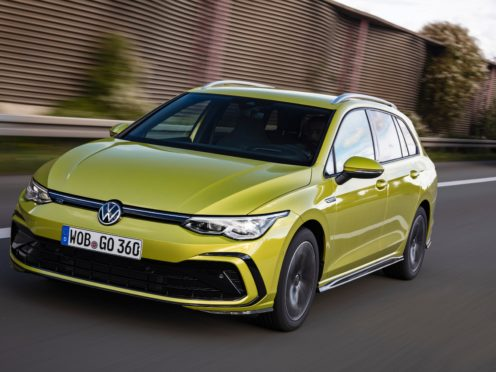 The Estate is a more practical version of the latest eight-generation Golf