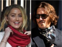 Amber Heard and Johnny Depp arrive at court ( Kirsty O'Connor/PA)