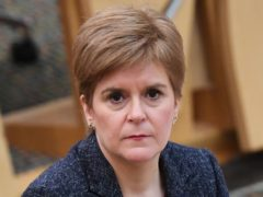 Nicola Sturgeon said the trade union movement has been central to Scotland's response to Covid-19 (Andy Buchanan/PA)