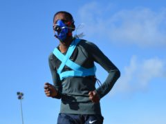 Some of the elite runners were tested at Exeter Arena (University of Exeter/PA)