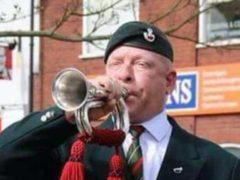 Ex-Army bugler Paul Goose (JustGiving)