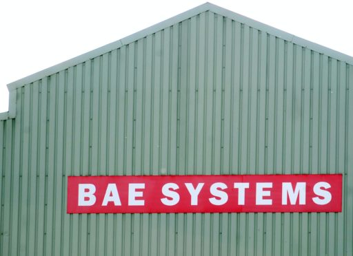 A general view of the BAE Systems plant in Brough, Hull (Anna Gowthorpe/PA)