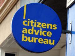 Citizens Advice Scotland hailed the 'extraordinary' figures (Rui Vieira/PA)