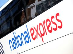 Coach operator National Express has recorded a spike in demand as students head home for Christmas (Shaun Fellows/National Express/PA)