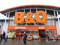 B&Q owner Kingfisher is to pay back millions in business rates relief (Paul Faith/PA)