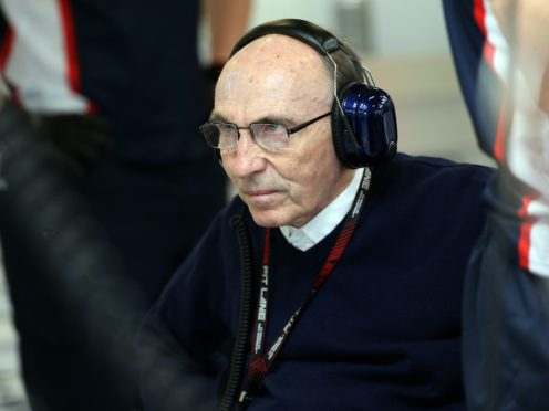 Sir Frank Williams has been released from hospital (David Davies/PA)