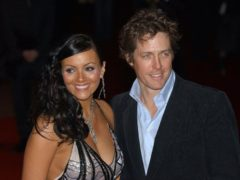 Hugh Grant and Martine McCutcheon at the premiere of Love Actually (Andy Butterton/PA)