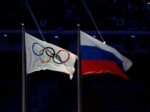 Russia has been barred from being officially represented in major sports events for the next two years (David Davies/PA)