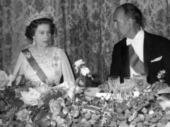 The Queen and French President Valery Giscard d'Estaing (PA)