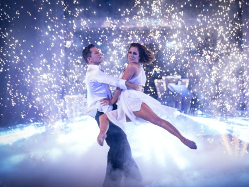 Caroline Flack in Strictly Come Dancing 2014 (Guy Levy/BBC)