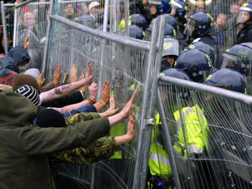Protesters attempted to disrupt the 2005 summit (David Cheskin/PA)