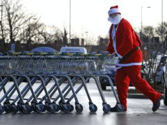 Grocery sales soared 17% in the three days before the second English lockdown (Peter Byrne/PA)