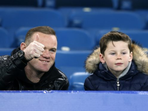 Wayne Rooney's son Kai has signed for Manchester United (Peter Byrne/PA)