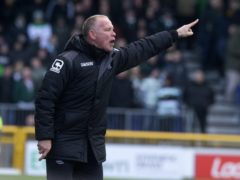 John Hughes is the new manager of Ross County (Jeff Holmes/PA)