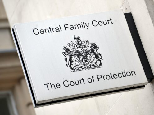 A Court of Protection judge has ruled that doctors can amputate the ulcerated right foot of a mentally-ill pensioner against his wishes (Nick Ansell/PA)