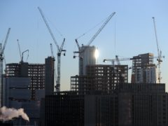 The construction sector grew in November, according to the latest PMI (Jonathan Brady/PA)