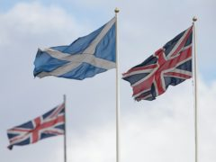 Ipsos MORI said there is a 'clear lead for Yes' (Yui Mok/PA)