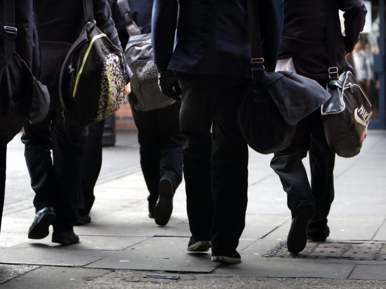 The study found 39% of young people do not feel optimistic about their future employment prospects (David Jones/PA)