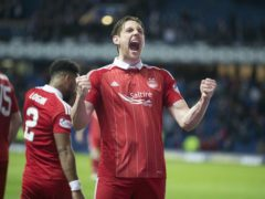 Ash Taylor netted the winner for Aberdeen (Jeff Holmes/PA)