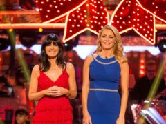 Claudia Winkleman and Tess Daly will be on your screens on Christmas Day (Guy Levy/BBC)