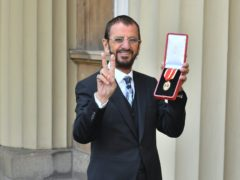 Sir Ringo Starr has told of sadness at not being able to join his children and grandchildren in the UK for Christmas (John Stillwell/PA)