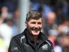 Rob Baxter thought news of his recognition in the honours list was a prank (Simon Galloway/PA)