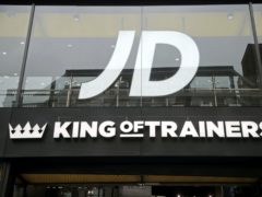 A branch of JD Sports on Oxford Street, central London (Yui Mok/PA)