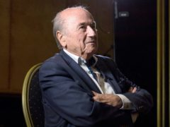 Former FIFA president Sepp Blatter is the subject of a new criminal complaint from the world governing body (Aaron Chown/PA)