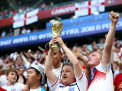 England are due to find out on Monday which teams they will face in qualification for the 2022 World Cup (Tim Goode/PA).