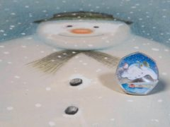 The first page of the original score of The Snowman, signed by composer Howard Blake, will go under the hammer in aid of the Journalists' Charity (David Parry/PA)