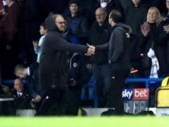 Marcelo Bielsa (left) and Frank Lampard have endured a tough relationship (Simon Cooper/PA)