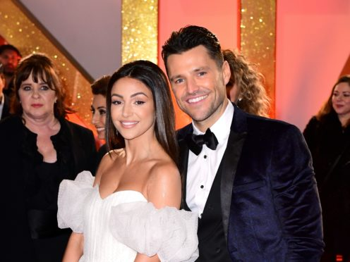 Michelle Keegan and Mark Wright (Ian West/PA)