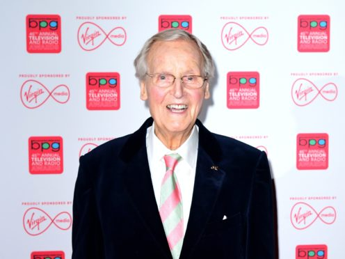 Nicholas Parsons died in January (Ian West/PA)